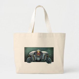 Soldier vs. Aliens Tote Bag