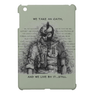 Soldier Warrior - Oath Customize Background Color iPad Mini Cases