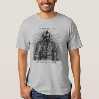 Soldier Warrior - Oath Customize Background Color Shirt