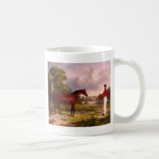 Soldier with an Officer's Charge Classic White Coffee Mug