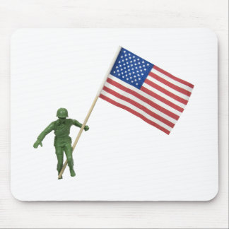 SoldierAmericanFlag072509 Mouse Pad