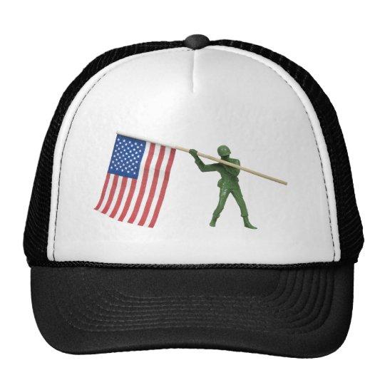 SoldierAmericanFlag1072509 Trucker Hat