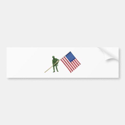 SoldierAmericanFlag2072509 Bumper Sticker