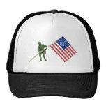 SoldierAmericanFlag2072509 Hat
