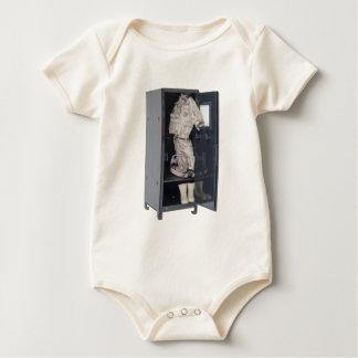 SoldierGearInLocker081212.png Baby Bodysuit