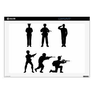 "Soldiers 17"" Laptop Skin"