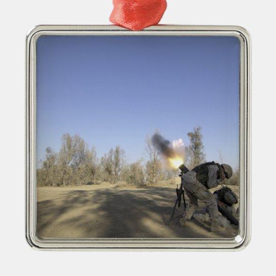 soldiers 2 metal ornament
