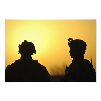 soldiers 2 photo print
