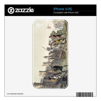 Soldiers and Artillery of the 15th Century, plate iPhone 4S Decal