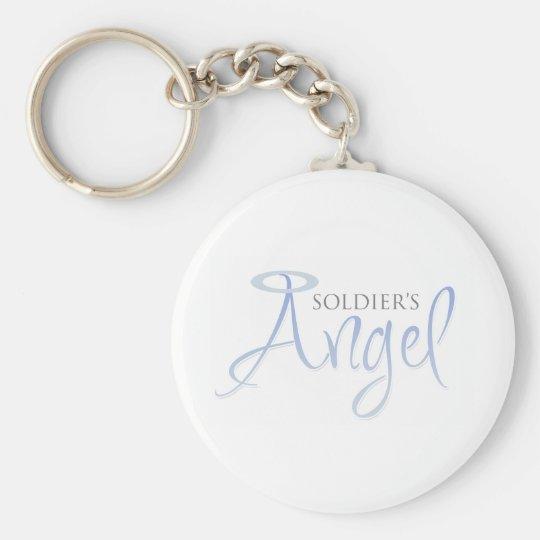Soldier's Angel Keychain