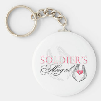 Soldier's Angel Keychain