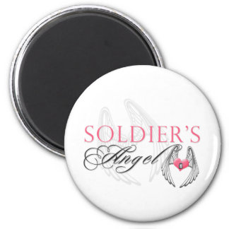 Soldier's Angel Magnet