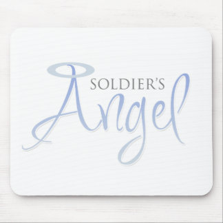 Soldier's Angel Mouse Pad