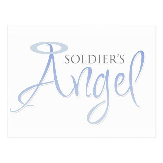 Soldier's Angel Postcard