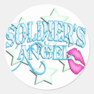 SOLDIER'S ANGEL STICKER