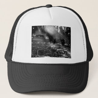 Soldiers at Bougainville (Solomon Islands) 1944 Trucker Hat