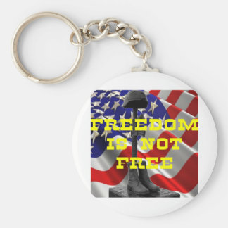 Soldiers Battlefield Cross Keychain