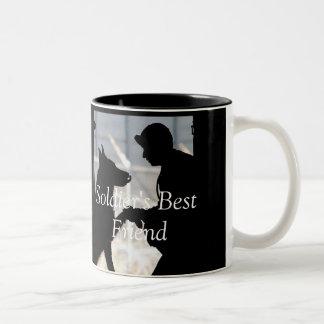 Soldier's Best Friend Mug