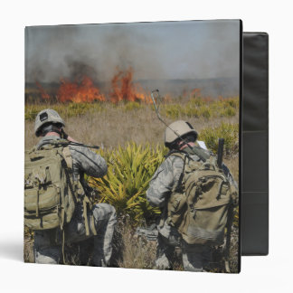 Soldiers call in information binder