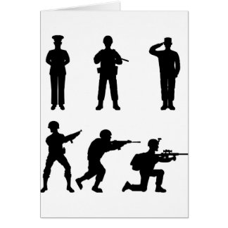 Soldiers Card