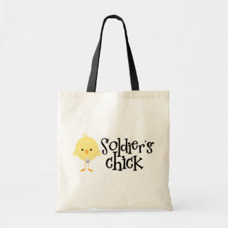 Soldier's Chick Tote Bags