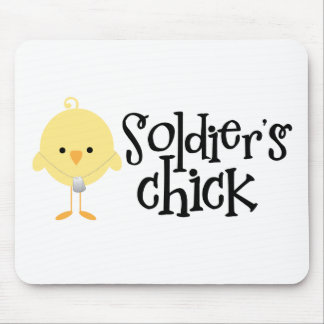 Soldier's Chick Mouse Pad