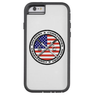 Soldiers & Commanders Circular Logo iPhone 6/6S Tough Xtreme iPhone 6 Case