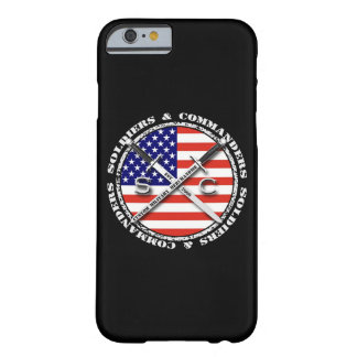 Soldiers & Commanders Circular Logo iPhone 6 Barely There iPhone 6 Case