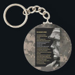 "soldiers creed keychain<br><div class=""desc"">creed</div>"