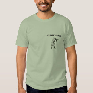 Soldier's Creed Shirt