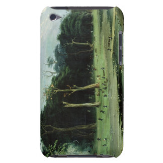 Soldiers Cutting Branches by a River (oil on canva Barely There iPod Cover