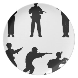 Soldiers Dinner Plate