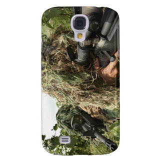 Soldiers dressed in ghillie suits samsung galaxy s4 case