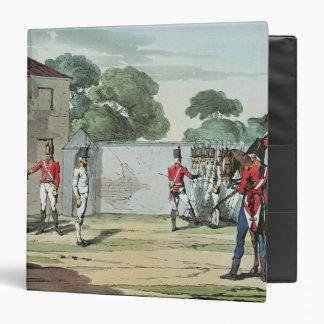 Soldiers Drilling, 1807 Binder