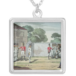 Soldiers Drilling, 1807 Custom Jewelry
