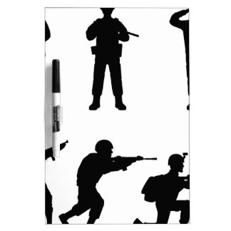 Soldiers Dry-Erase Board