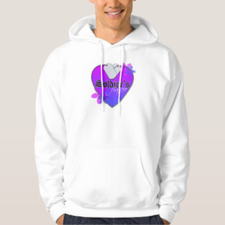 Soldier's Fiancee Heart Shaped Military Dog Tags Hoodie