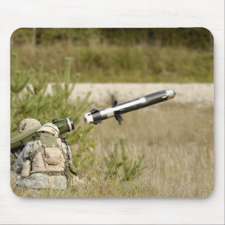 soldiers firing an FGM-148 Javelin Mouse Pad