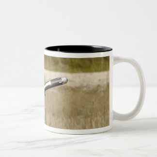 soldiers firing an FGM-148 Javelin Two-Tone Coffee Mug