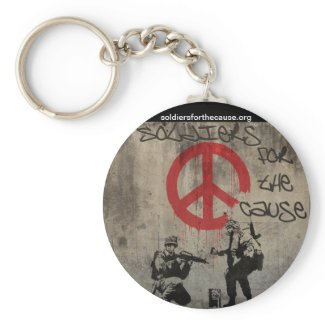 Soldiers for the Cause Keychain keychain