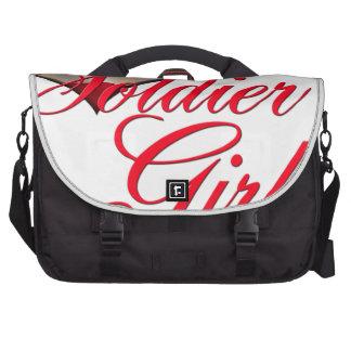 soldier's girl laptop bag