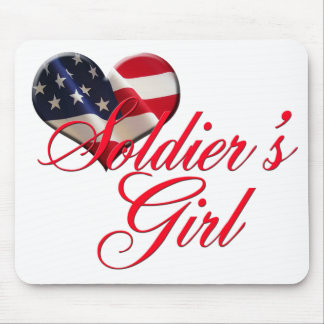 Soldier's Girl Mouse Pad