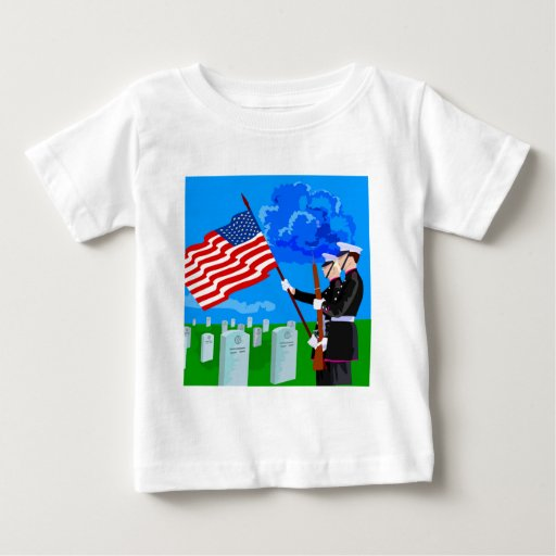 Soldiers Graveyard Baby T-Shirt