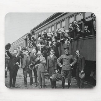 Soldiers Headed to Camp Upton During World War I Mouse Pad