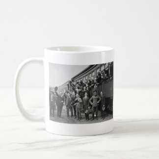 Soldiers Headed to Camp Upton During World War I Mug