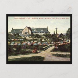 Soldiers Home, Los Angeles, California Vintage postcard