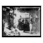 Soldiers in   Library 1912 Posters
