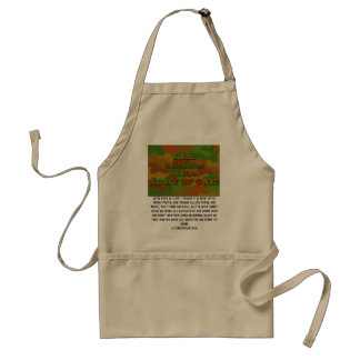 Soldiers in the Army of One Adult Apron