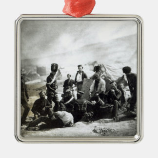 Soldiers in the Crimea, c.1855 Metal Ornament