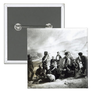Soldiers in the Crimea, c.1855 Pinback Button